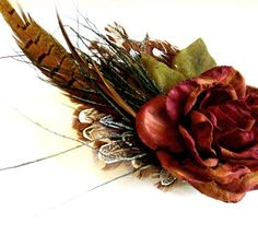 Fascinator by Tribal Punk on Etsy.