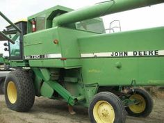 John Deere 7720 combine. Salvaged for used parts. All States Ag Parts 877-530-4430