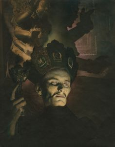 Tantric Sorcerer 1932 The cover image from Mortensen's book The Command to Look, republished after 65 years by Feral House on 20 October. American nightmares: the photography of William Mortensen