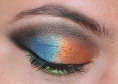 Breaking Down Beauty: A Cut Crease Shadow Tutorial - great technique for applying your Sweet Libertine eye shadow! eye candi, tutorials, brown eye, beauty, shadow tutori, cut creas, shadows, creas shadow, makeup idea