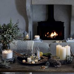 Snuggle-up on a cold Winter's night with the warming scent of Winter.  Shop our 'Winter Indulgence Candle', 'Winter Votive' and 'Winter Diffuser' from the link in our bio. #TheWhiteCompany #Winter