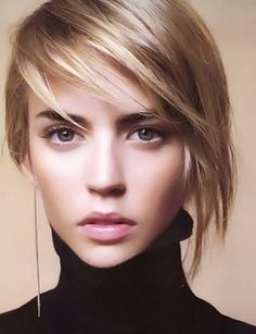 Asymmetrical Bob - Hairstyles, Easy Hairstyles For Girls