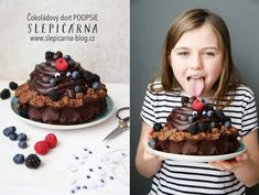 Narozeninový čokoládový dort POOPSIE – SLEPIČÁRNA Waffles, Breakfast, Cake, Food, Morning Coffee, Pie, Kuchen, Cakes, Torte