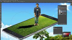 How to Make 3d manipulation Photoshop Tutorial ।। Fantasy Photo Manipul...
