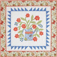 Getting ready for spring and summer? This FREE quilt pattern called Garden Time, by Nancy Mahoney, is the perfect quilt to display on your wall as we ring in warmer weather. Happy Quilting!