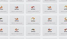 Optica Business Card Design