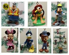 "Mickey Mouse Clubhouse 6 Piece Holiday Christmas Tree Ornament Set Featuring Crossing Guard Pete, Conductor Minnie, Fireman Pluto, Police Officer Donald Duck, Construction Worker Goofy and Pink Dress Minnie Mouse 5"" Ornaments Mickey Mouse Clubhouse,http://www.amazon.com/dp/B00FR9ITKM/ref=cm_sw_r_pi_dp_2GDIsb0CMWK9CP4E"