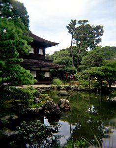 Jisho-ji temple, Kyoto, Japan.