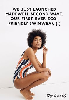 Eco Friendly Swimwear for All Sizes from Madewell Second Wave - Decadent Dissonance