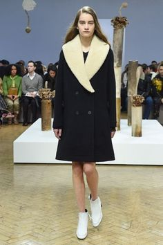JW Anderson AW18 shearling coat