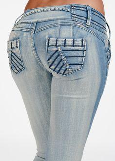 Chic Butt Lifting Jeans- Butt Lifting Skinny Jeans- Butt Lifting Jeans
