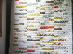 Great strip quilt!