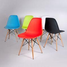 Silla WOODEN -Color Edition-