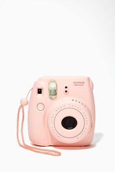 Fujifilm Instax Mini 8 Instant Camera in blush. #wishlist #watchwigs www.youtube.com/wigs