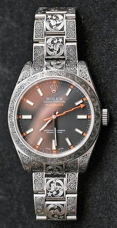 Forget performance, a luxurious watch attached to a wrist just always appears to be a significant enhancement to any wardrobe. Brand names like Rolex and Cartier carry an air of authority that real… Rolex Watches For Men, Fine Watches, Luxury Watches For Men, Cool Watches, Nixon Watches, Rolex Vintage, Vintage Watches, Rolex President, Rolex Submariner