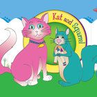 """Free! - Kat and Squirrel Bulletin Board Art prints at 11x17  or """"shrink to printable area""""."""