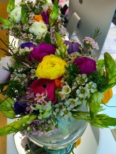 Spring flowers in colourful variations by ROSMARINO