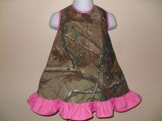 Daddy's Camo Cutie Dress by RufflesandRouge on Etsy, $40.00