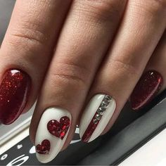 Best Nail Art - 35 Amazing Nails for 2019 Are you looking for the Best Nail Art? Today we have some of the best nail art featuring 35 amazing nails for Beautiful Nail Art, Gorgeous Nails, Love Nails, Pretty Nails, Amazing Nails, Amazing Art, Red Nail Art, Fall Nail Art, Pink Nails
