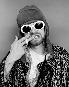 despite how much he was struggling, this man was brilliant and paved the way for independent, free thinking souls.  kurt cobain, nirvana