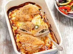 White chicken in the oven easy recipes and gourmet White Chicken, Lasagna, Easy Meals, Easy Recipes, Chicken Recipes, Oven, Cooking, Breakfast, Ethnic Recipes
