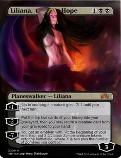 liliana last hope v2 full art