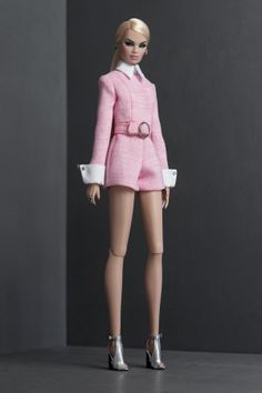 SHANTOMMO'S entire chic ready-to-wear collections for & fashion dolls. Diy Barbie Clothes, Barbie Clothes Patterns, Dress Patterns, Barbie Outfits, Fashion Royalty Dolls, Fashion Dolls, Fashion Outfits, Barbie Gowns, Barbie Dress