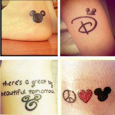 @Sherry Lawson @Kristen Small Disney tattoo #theloveofmickey Love the carousel of progress omg !