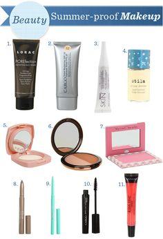 Summer-proof Makeup. #zappos #summer #makeup