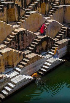 "Ancient aliens 816910819886648824 - "" Stepwell, Jaipur, India Source by mifuguemiraison Cultural Architecture, Ancient Architecture, Amazing Architecture, Indian Architecture, Mvc Architecture, Enterprise Architecture, Architecture Portfolio, Places To Travel, Places To Visit"