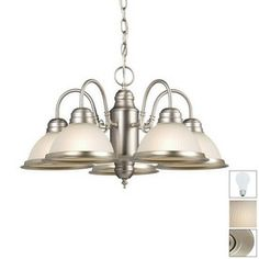 Galaxy�Acadia 5-Light Pewter Chandelier