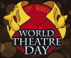 Theatrical Golden Masks And Commemorative Button For World Theatre Day, Vector Illustration Stock Vector - Illustration of button, fool: 176823859 World Theatre Day, The Fool, Masks, Button, Illustration, Fictional Characters, Illustrations, Fantasy Characters, Buttons