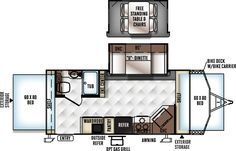 Flagstaff Shamrock Travel Trailers by Forest River RV