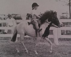 """Dianne Grod at 4 years old riding """"Blaze"""" Vintage Children Photos, Two Horses, Pony Rides, Funny Horses, Hunter Jumper, My Dream Came True, 4 Year Olds, Girls Dream, Dressage"""
