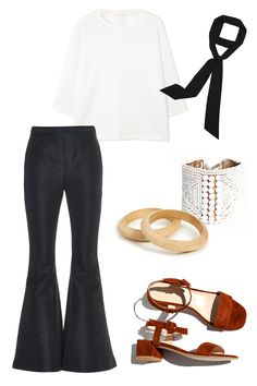 I can't speak for the entire fashion industry, but everyone I know is obsessed with big volume, skinny scarves, and Maryam Nassir Zadeh shoes. Cos Round-Shoulder Jersey Top, $59; cosstores.com  Ellery Faithful Flared Trousers, $1,043; matchesfashion.com  Maryam Nassir Zadeh Sophie Sandal, $368; shopanaise.com  Zara Tie Style Scarf, $10; zara.com  Dara Artisons Beaded Leather Cuff, $95; daraartisans.com  Dara Artisans Small 2-Side Wood Bangle Set, $9; daraartisans.com   - ELLE.com