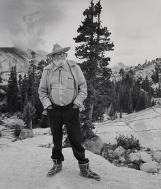 Ansel Adams at Olmsted Point, Yosemite by Chuck Henningsen Ansel Adams Photography, White Photography, Gelatin Silver Print, Best Photographers, Photo Manipulation, Fine Art, Black And White, Gallery, Designers