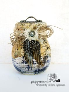 Alterujemy: Retro-słoik Karoliny / Altering: Karolina's Retro-Jar