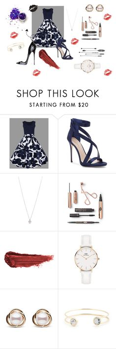 """""""Summer Floral Dress Time"""" by regina186 ❤ liked on Polyvore featuring Imagine by Vince Camuto, Tiffany & Co., By Terry, Daniel Wellington, Trilogy and Sole Society"""