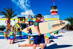 Endless Fun In The Sun Awaits at All-New Legoland Florida Resort Beach Retreat Now Open