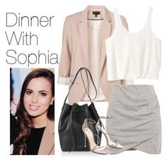 """""""Dinner with Sophia"""" by onedirectionimagineoutfits99 ❤ liked on Polyvore featuring Topshop, 3.1 Phillip Lim, Mansur Gavriel, Pull&Bear and B Brian Atwood"""