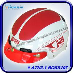 Mũ Bảo Hiểm ATN 3.1 - BOSS 107 http://mubaohiemantran.com/boss/atn3-1-boss107-helmet