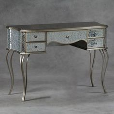Champagne Mosaic 2 Over 2 Chest Of Drawers - Luxury Item!