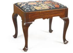 An Irish George II mahogany stool mid-18th century | Lot | 4K-6K