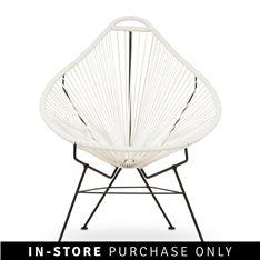 gozo chair white