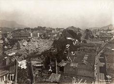 Augusto Malta. Demolição do morro do Castelo, 23 /03/1925. Rio de Janeiro, RJ / Acervo IMS