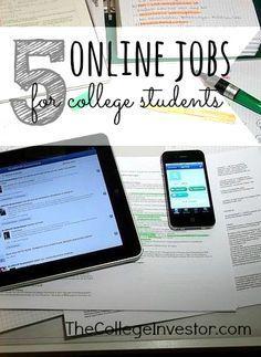 Legitimate Online Jobs for College Students | Faculdades