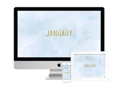 Happy new year! Grab my January 2015 wallpaper for your computer, tablet or phone!