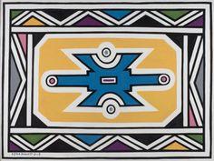 Esther Mahlangu | Works