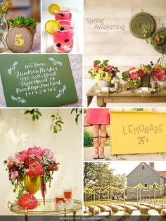 like the lemonade sign.. and could do the number specific for occasion
