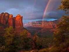 #Sedona Red Rocks. See more #rainbows! http://www.redrockrealty.net